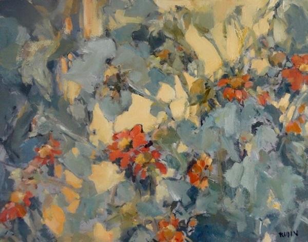 Artist Sandra Rubin, Sue Anne's Garden