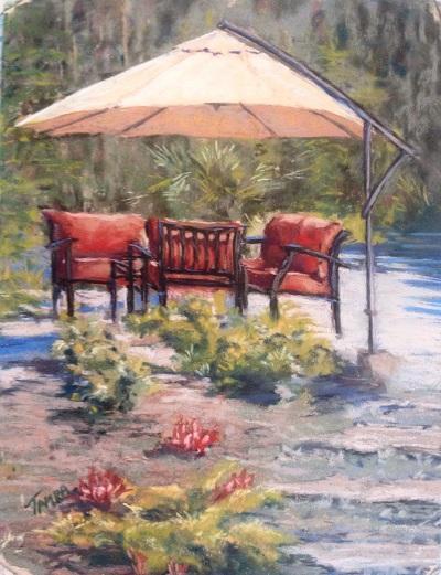 Artist Tamra Sanchez, Sylvia's Garden