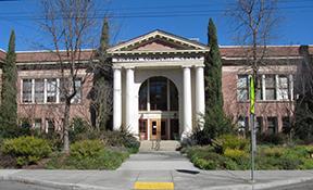 Sonoma Waterwise Garden - main entrance